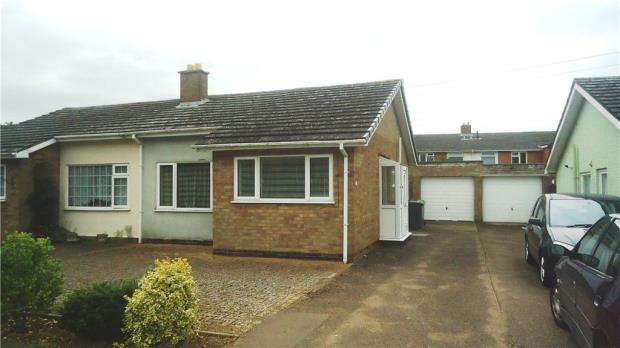 2 Bedrooms Semi Detached Bungalow for sale in Willow Road, Potton