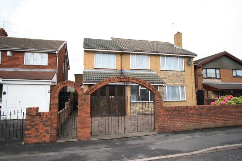 4 Bedrooms Detached House for sale in Horseley Road, Tipton, West Midlands, DY4