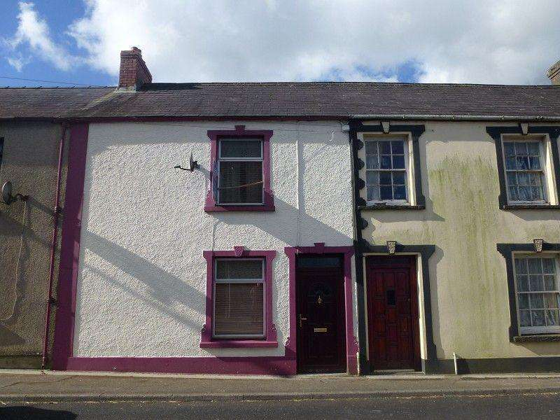 3 Bedrooms Terraced House for sale in Church Street, Llangadog, Carmarthenshire.