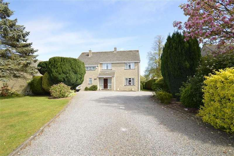 4 Bedrooms Detached House for sale in The Street, Lea, Wiltshire