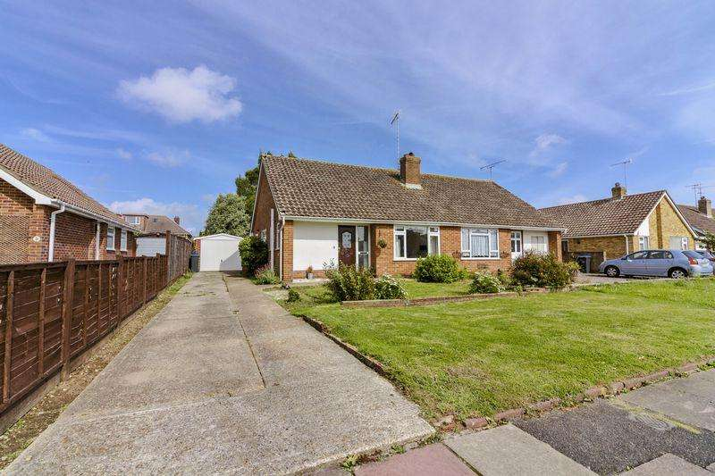 2 Bedrooms Semi Detached Bungalow for sale in Ainsdale Road, Worthing
