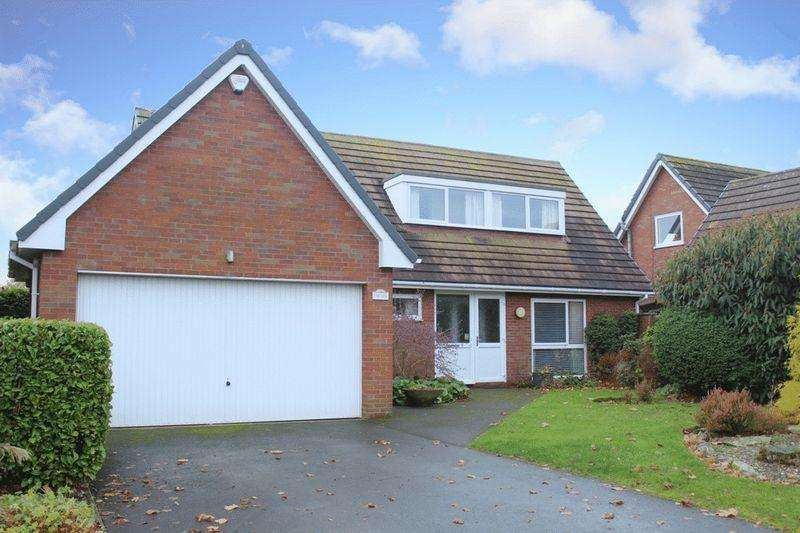 4 Bedrooms Detached House for sale in Mill Stream, Worthen, Shrewsbury, SY5 9JX