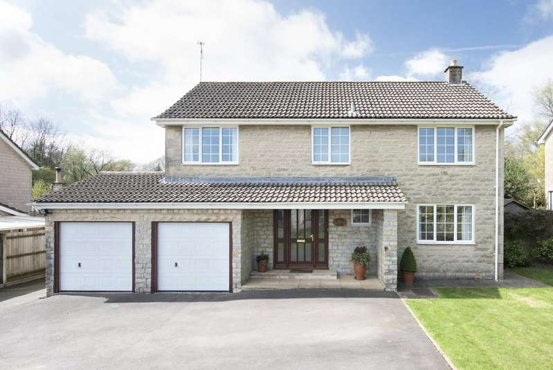 4 Bedrooms Detached House for sale in Holcombe, Somerset