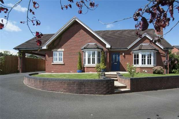 3 Bedrooms Detached Bungalow for sale in 6 Starstile Meadow, Gravel Hill, Ludlow, Shropshire