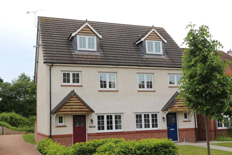 4 Bedrooms Semi Detached House for sale in Lambourne Court, Gwersyllt, Wrexham, LL11