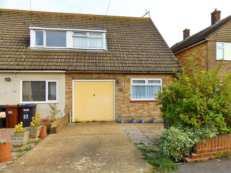 3 Bedrooms Semi Detached House for sale in Westfield Close, Polegate