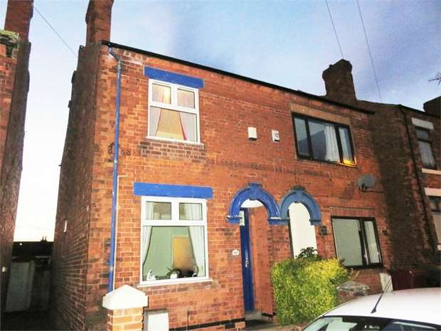 3 Bedrooms Semi Detached House for sale in King Street, Pinxton, Nottingham, Derbyshire