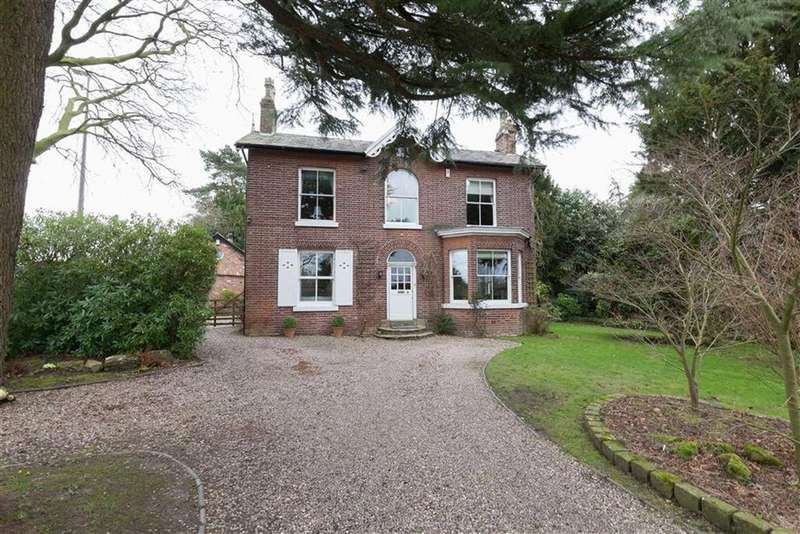 3 Bedrooms Detached House for sale in Dean Row Road, Wilmslow