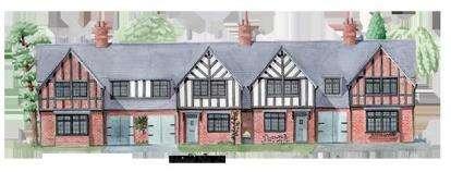 3 Bedrooms Terraced House for sale in Kingshurst, 1 Kingshurst Gardens, Bretforton Road, Worcestershire