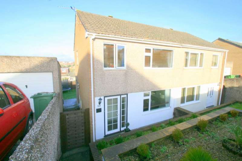 3 Bedrooms Semi Detached House for sale in Bellingham Crescent, Plympton
