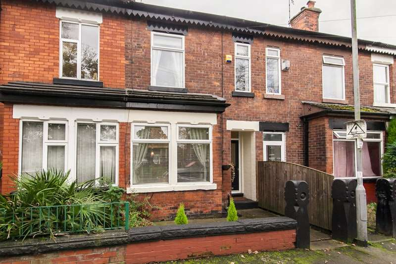 3 Bedrooms Terraced House for sale in Heaton Street, Manchester, Greater Manchester, M25