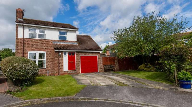 3 Bedrooms Detached House for sale in Ash Close, North Duffield, Selby, North Yorkshire