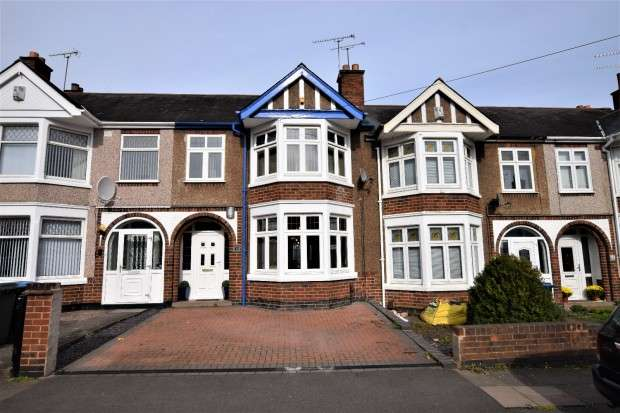 3 Bedrooms Terraced House for sale in Kempley Avenue, Coventry, CV2