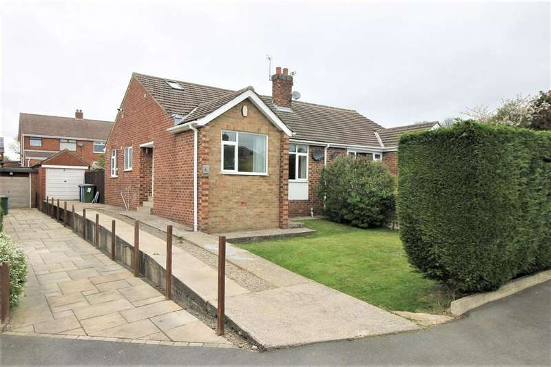 2 Bedrooms Semi Detached Bungalow for sale in Carmel Gardens, Nunthorpe, Middlesbrough