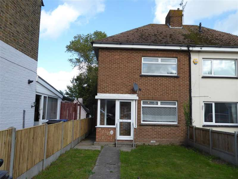 2 Bedrooms Semi Detached House for sale in Westwood Road, Broadstairs