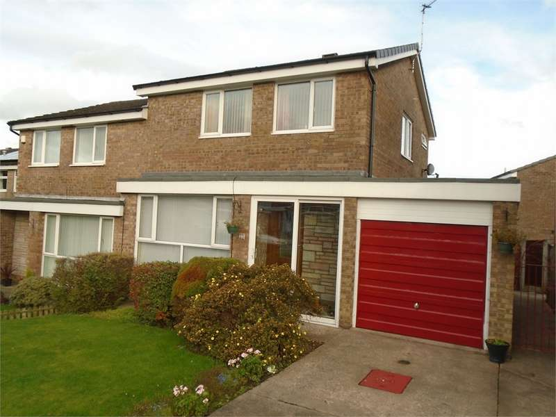 3 Bedrooms Semi Detached House for sale in CA2 7XG Housesteads Road, Sandsfield Park, CARLISLE, Cumbria