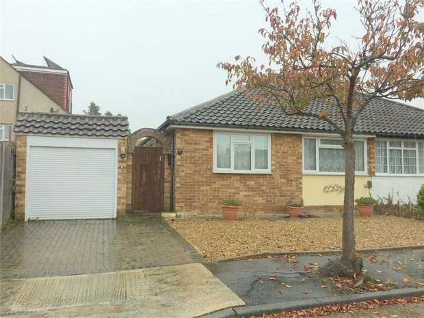 2 Bedrooms Semi Detached Bungalow for sale in Carlton Close, Chessington