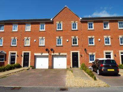 4 Bedrooms Terraced House for sale in The Old Tramway, Tramway Lane, Bamber Bridge, Preston, PR5