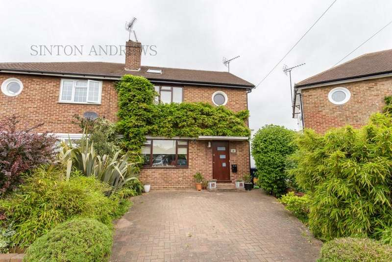 4 Bedrooms House for sale in Wolsey Close, Norwood Green, UB2