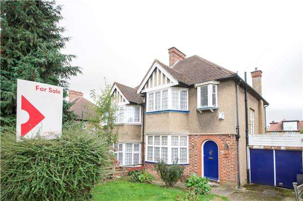 3 Bedrooms Semi Detached House for sale in Lavender Avenue, KINGSBURY, NW9 8HG