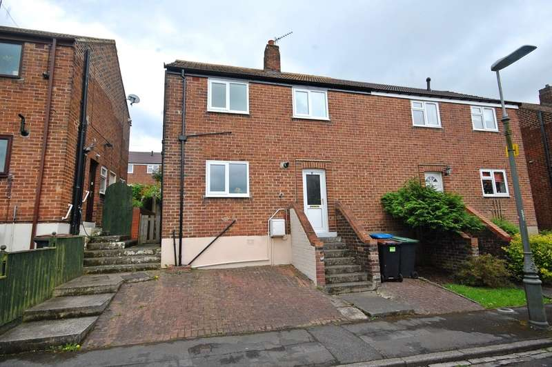 2 Bedrooms Semi Detached House for sale in Woodside Avenue, Bearpark, Durham