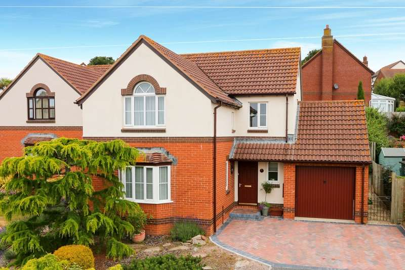 4 Bedrooms Detached House for sale in Abbey Close, East Teignmouth