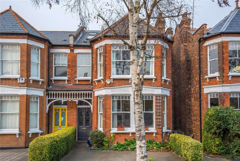 5 Bedrooms Semi Detached House for sale in Grove Avenue, Finchley, London, N3