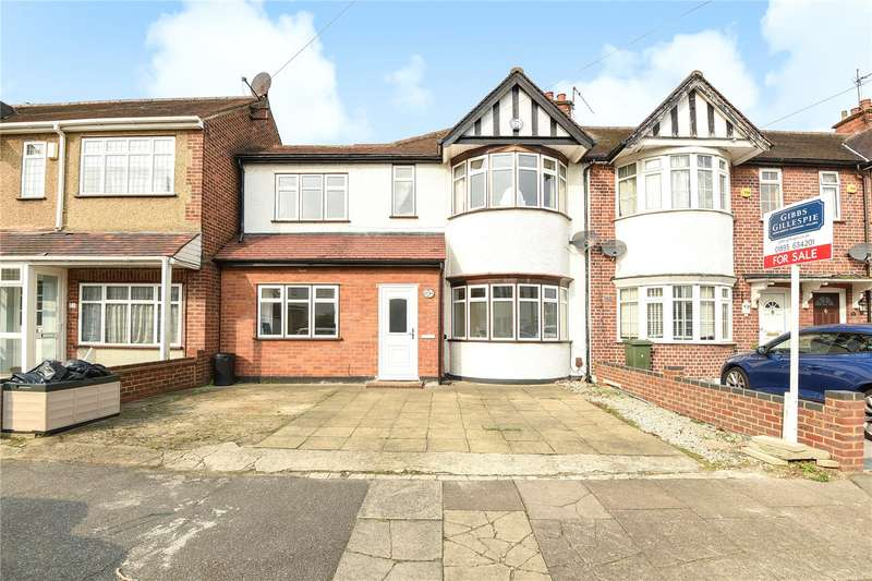 4 Bedrooms End Of Terrace House for sale in Whitby Road, Ruislip, Middlesex, HA4