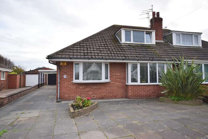 3 Bedrooms Semi Detached Bungalow for sale in Folkestone Road, Lytham St Annes, FY8