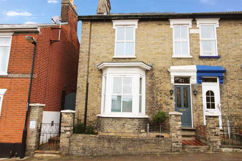2 Bedrooms Semi Detached House for sale in Cumberland Street, Ipswich