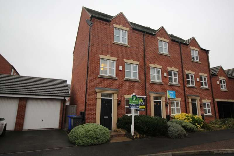 3 Bedrooms Property for sale in Blakeholme Court, Burton-On-Trent, DE14