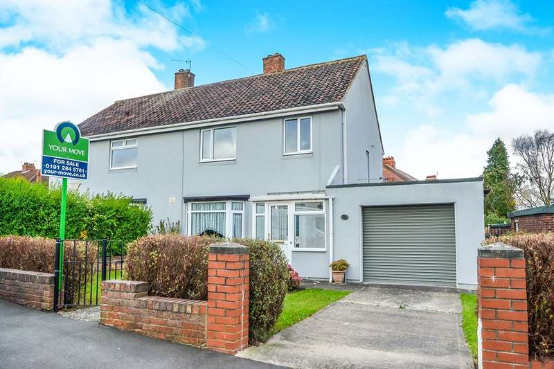 3 Bedrooms Semi Detached House for sale in Drummond Road, Newcastle Upon Tyne, NE3