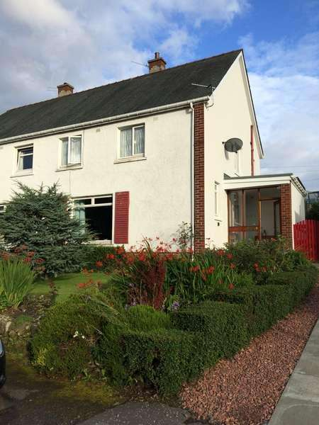 3 Bedrooms Semi-detached Villa House for sale in 5 Bridgend View, Carluke, ML8 4HL