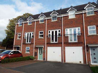 4 Bedrooms Terraced House for sale in Old Lodge Close, Uttoxeter
