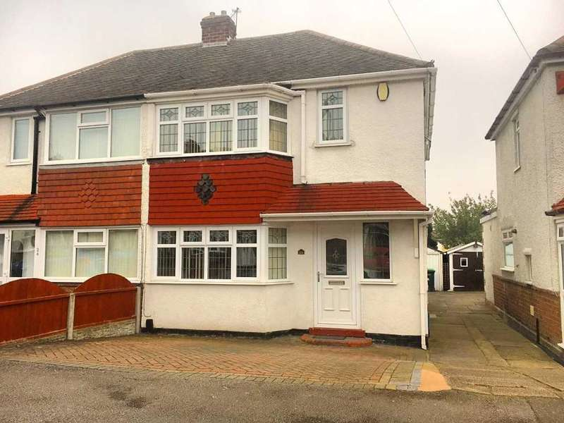 3 Bedrooms Semi Detached House for sale in DARBY ROAD, WEDNESBURY, WS10 0PN