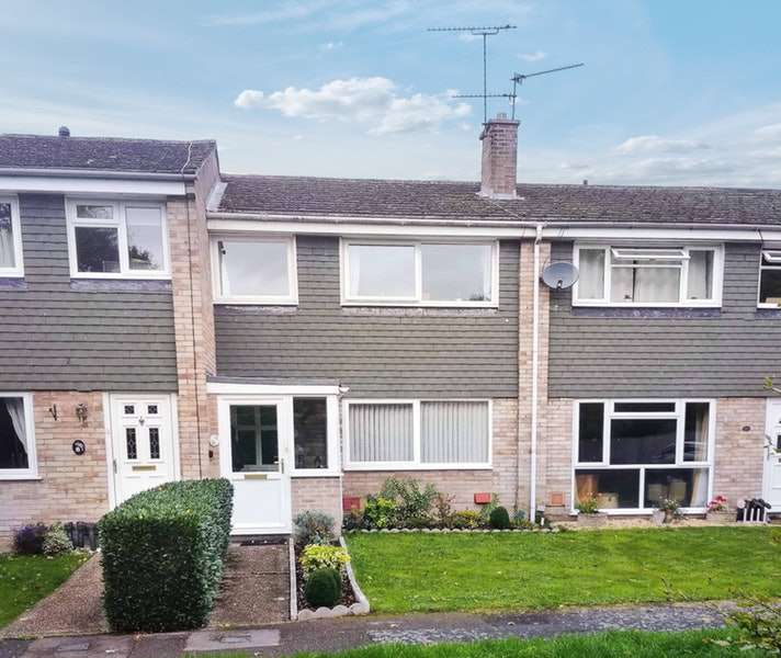 3 Bedrooms Terraced House for sale in Douro Close, Tadley, Hampshire, RG26
