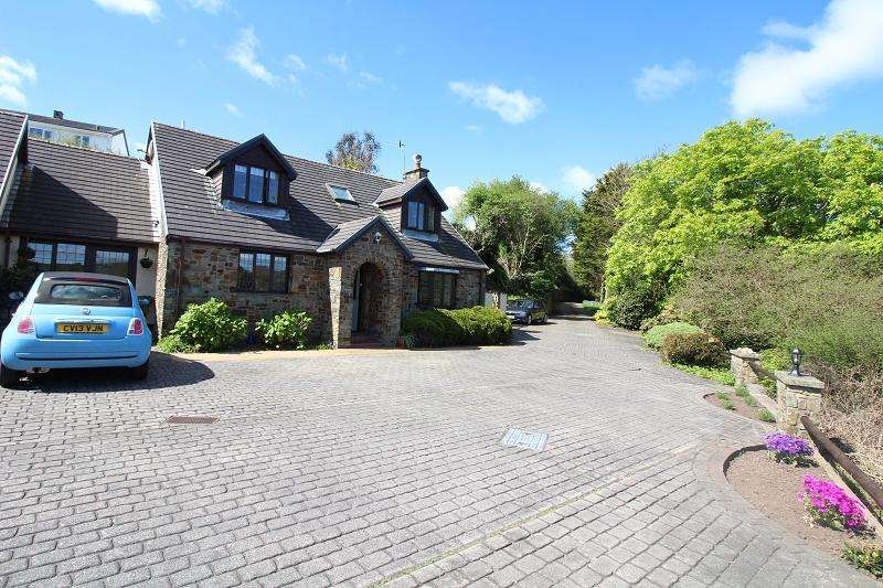 3 Bedrooms Link Detached House for sale in Cellar Hill, Milford Haven, Pembrokeshire. SA73 2QT