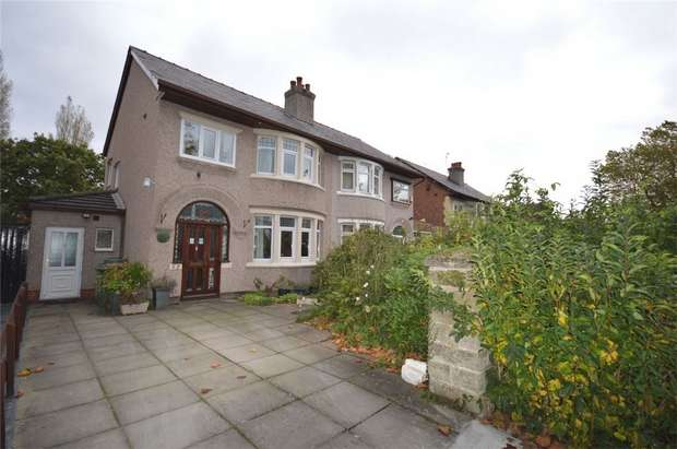3 Bedrooms Semi Detached House for sale in Princes Boulevard, Bebington, Merseyside
