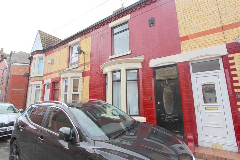 2 Bedrooms Terraced House for rent in Sunbeam Road, Old Swan, Liverpool
