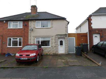 2 Bedrooms Semi Detached House for sale in Stonehill Avenue, Birstall, Leicester, Leicestershire