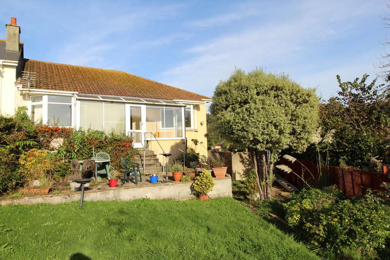 2 Bedrooms Semi Detached Bungalow for sale in Sherwell Park Road, Torquay