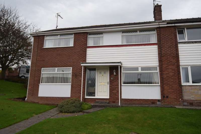 4 Bedrooms Semi Detached House for sale in Whitebeam Gardens, Barrow-in-Furness, Cumbria, LA13 0LB