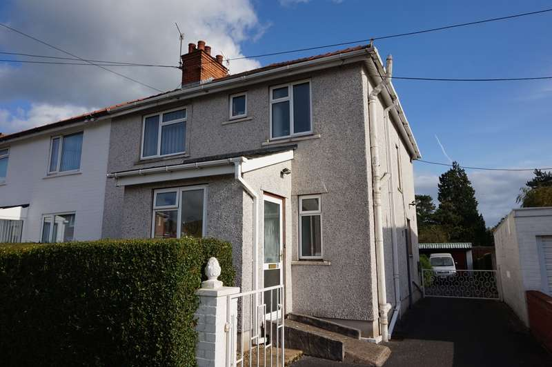 3 Bedrooms Semi Detached House for sale in Park Avenue, Abergavenny, NP7