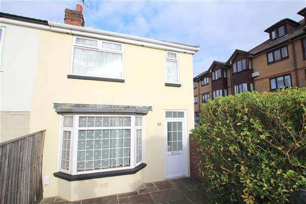 2 Bedrooms Semi Detached House for sale in Cleveland Road, Bournemouth
