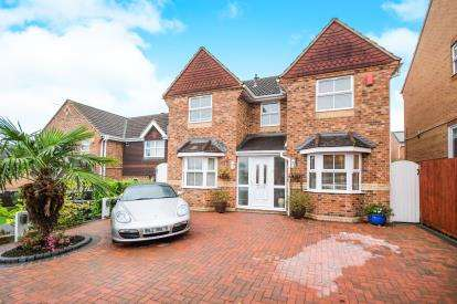 4 Bedrooms Detached House for sale in Cagney, Abbey Meads, Swindon, Wiltshire