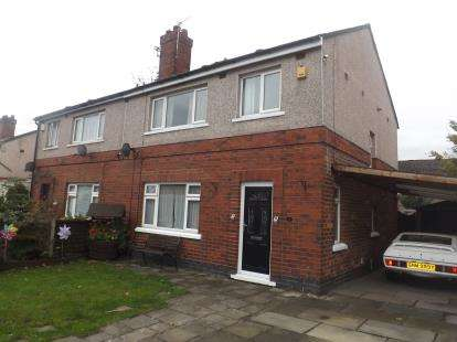 3 Bedrooms Semi Detached House for sale in Burns Avenue, Leigh, Greater Manchester