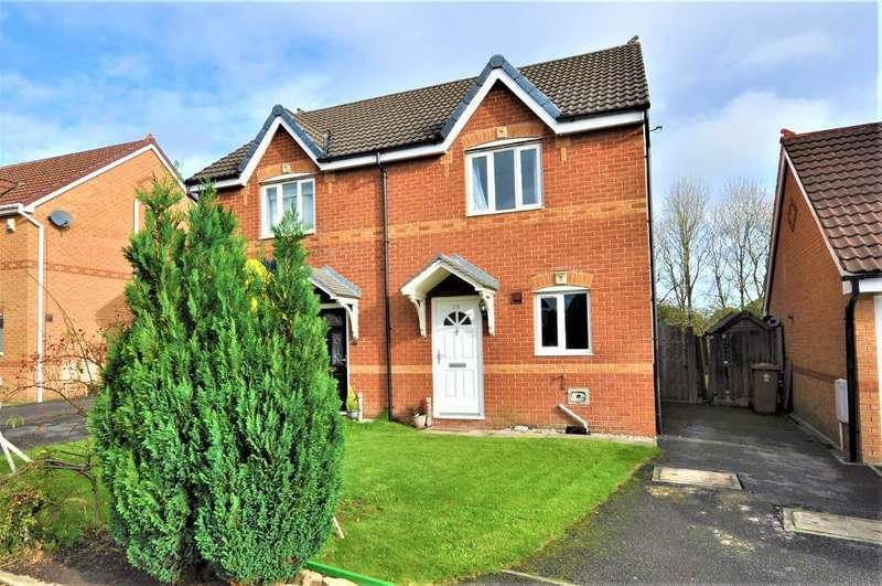2 Bedrooms Semi Detached House for sale in Broughton Tower Way, Fulwood, Preston, Lancashire, PR2 9PH