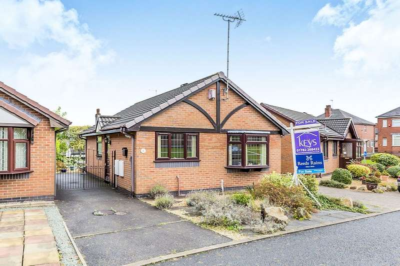2 Bedrooms Detached Bungalow for sale in Pomona Rise, Stoke-On-Trent, ST1