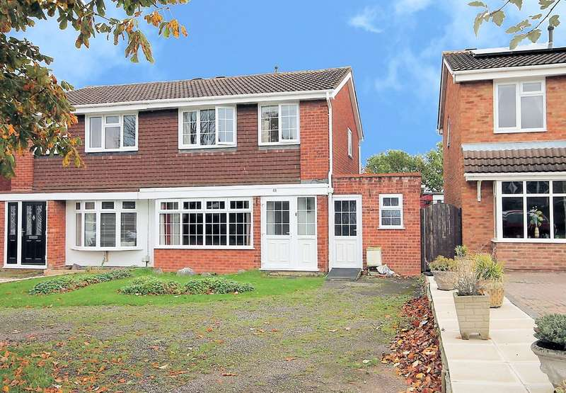 3 Bedrooms Semi Detached House for sale in Cottage Farm Road, Dosthill, Tamworth, B77 1NN