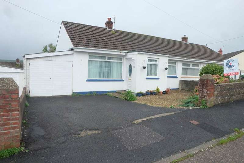 2 Bedrooms Semi Detached Bungalow for sale in Chanters Hill, Barnstaple
